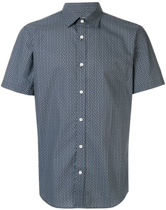 Gieves & Hawkes Short Sleeved Cotton Shirt