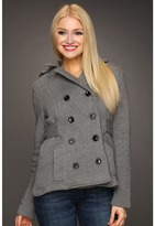 Obey Oxford Street Jacket (Heather Grey) - Apparel