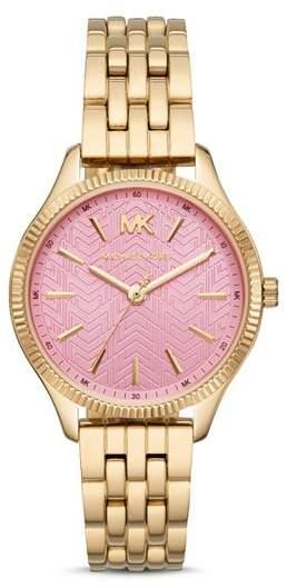 1b0baa84fec4 Michael Kors Crystal Gold Watch - ShopStyle
