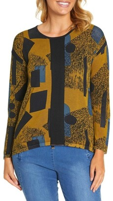Marc O'Polo Marco Polo Long Sleeve Contrast Panel Sweater