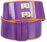 M Missoni Patent Leather Belt