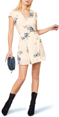 Reformation Radley Wrap Minidress