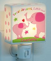 Sandra Magsamen Personalized Girl Elephant Night-Light