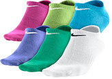 Nike 6-Pk. Graphic No-Show Socks, Girls' or Little Girls'