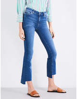 MiH Jeans Marrakesh kick-flare slim-fit mid-rise jeans