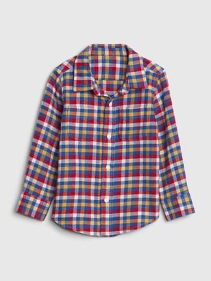 Gap Toddler Flannel Shirt