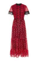 Saloni Andie Teired Midi Dress