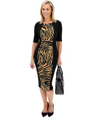 Capsule Animal Print Illusion Dress