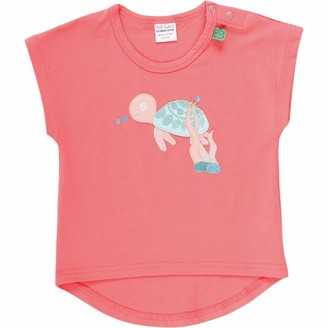 Green Cotton Fred's World by Baby Girls' Ocean Turtle S/s T Shirt