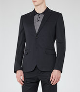 Reiss Statten B Slim Notch Lapel Blazer