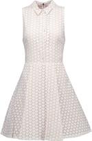 Alice + Olivia Elly printed chiffon mini dress