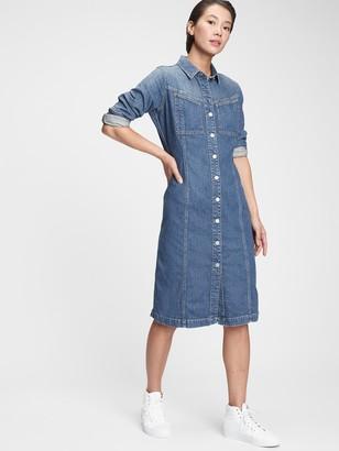 Gap Denim Western Dress