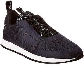 Fendi Two-Tone Nylon Sneaker