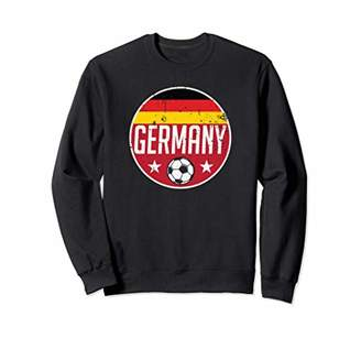 Germany Football Soccer Team Supporter Flag Jersey Berlin Sweatshirt