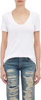 Barneys New York Women's Scoopneck T-shirt-WHITE