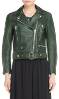 Acne Studios Women's Mock Leather Moto Jacket