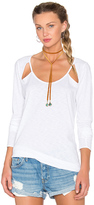 Chaser Scoop Neck Long Sleeve Tee