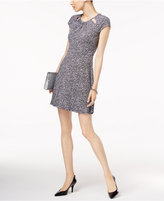 MICHAEL Michael Kors Thora Printed Fit & Flare Dress