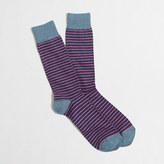 J.Crew Factory Microstripe socks
