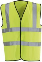 Regatta Great Outdoors Unisex Hi-Vis Sleeveless Vest (XL)