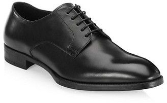 Giorgio Armani Leather Derby Shoes