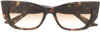Dita Eyewear Tortoiseshell Sunglasses