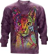 The Mountain Abyssinian USA Long Sleeve T-Shirt