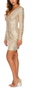 Quiz Sequin Sheath Dress