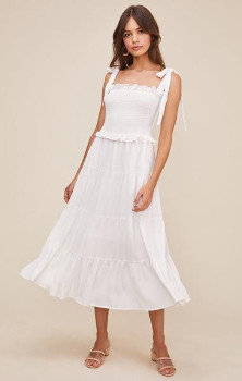 ASTR the Label The Promenade Dress In White - S