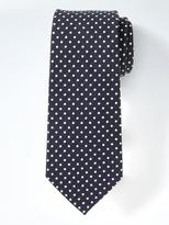 Banana Republic Dot Silk Linen Nanotex® Tie