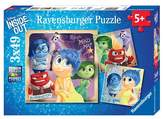 Insideout Ravensburger Disney Emotional Adventure Puzzles in a Box - 3 x 49 Pieces