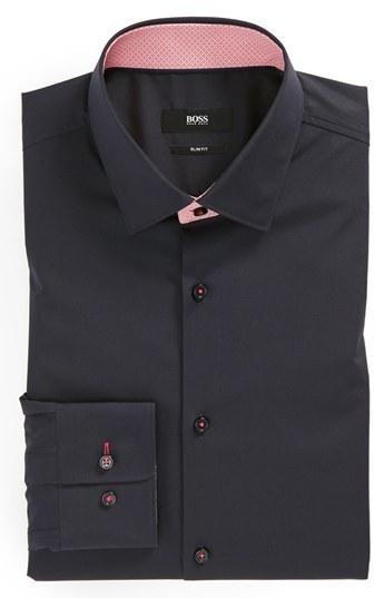 HUGO BOSS 'Juri' Slim Fit Dress Shirt