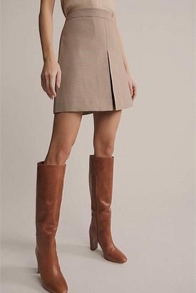 Witchery Houndstooth Mini Skirt