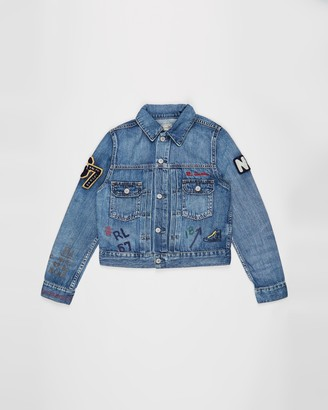 Polo Ralph Lauren Tiger Denim Jacket - Teens