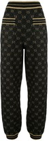 Gucci GG Supreme knitted track pants