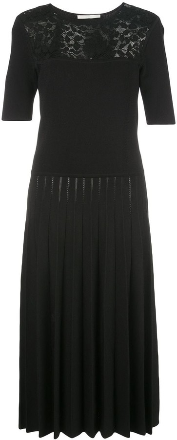 Jason Wu Collection Contrast-Panel Midi Dress