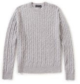 Brooks Brothers Cable Crew Lambswool Sweater