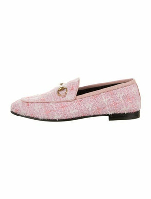 Gucci 2019 Horsebit Accent Loafers w/ Tags Pink