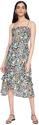 Parker Valencia Dress (Cannes Floral) Women's Clothing