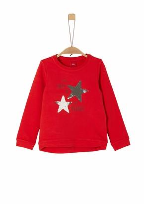 S'Oliver Girl's 58.911.41.2257 Sweatshirt