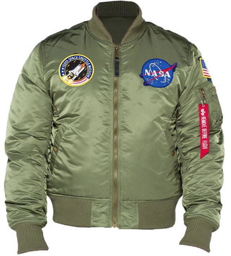 Alpha Industries Ma-1 Vf Nasa Bomber Jacket