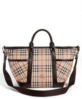Burberry Check Diaper Bag