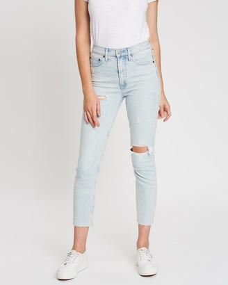 Gap High-Rise Cigarette Jeans