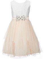 Rare Editions Big Girls 7-16 Soutache Cascade Dress