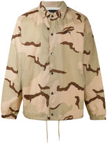 Stussy camouflage print jacket