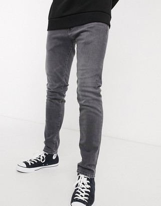 Edwin ED85 skinny fit jeans in grey denim