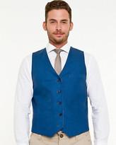Le Château Linen Blend Reversible Vest