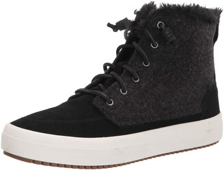 Sperry Women's Crest Lug High Top Quilted Cozy Suede Snow Boot