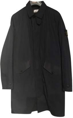 Stone Island Navy Cotton Coats