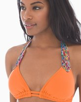 Soma Intimates Candy Apple Halter Swim Bikini Top